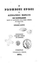 I promessi sposi di Alessandro Manzoni; con illustrazioni tratte dai ragionamenti sulla storia lombarda del secolo 17. di Cesare Cantu
