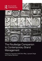 The Routledge Companion to Contemporary Brand Management PDF