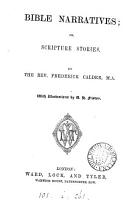 Bible narratives  or  Scripture stories PDF