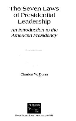 The Seven Laws of Presidential Leadership PDF