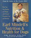 Earl Mindell s Nutrition   Health for Dogs PDF