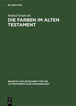Die Farben im Alten Testament PDF