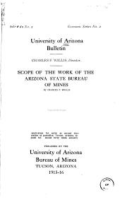 Bulletin - Arizona State Bureau of Mines: Issues 1-20