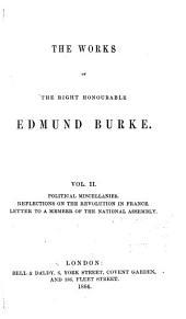The Works of the Right Honourable Edmund Burke: Volume 2