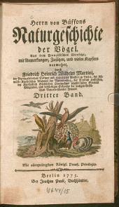 Naturgeschichte der Vögel: 3
