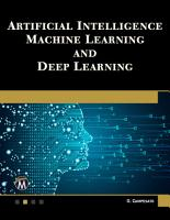 Artificial Intelligence  Machine Learning  and Deep Learning PDF