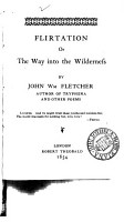 Flirtation  or  The way into the wilderness PDF