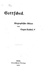 Gottsched: biographische Skizze