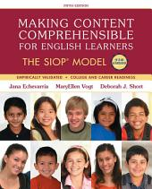 Making Content Comprehensible for English Learners: The SIOP Model, Edition 5