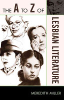 The A to Z of Lesbian Literature
