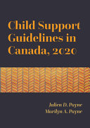 Child Support Guidelines in Canada, 2020