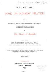 The Annotated Book Of Common Prayer Book PDF