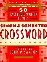 Simon and Schuster Crossword Puzzle Book PDF