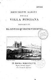 Monumenti Gabini della villa Pinciana descritti