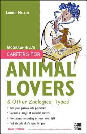 Careers for Animal Lovers: Edition 3