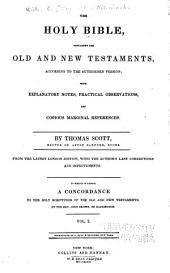 Old Testament.- v. 3. New Testament