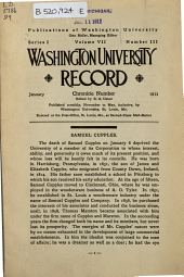 Publications: Washington University record