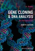 Gene Cloning and DNA Analysis PDF
