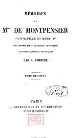 Mémoires de Mademoiselle de Montpensier: Volume2