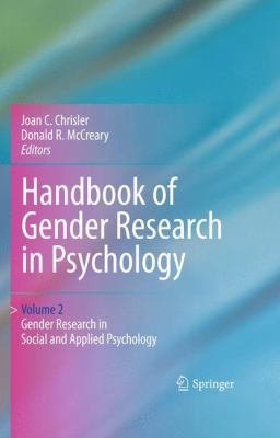 Handbook of Gender Research in Psychology PDF