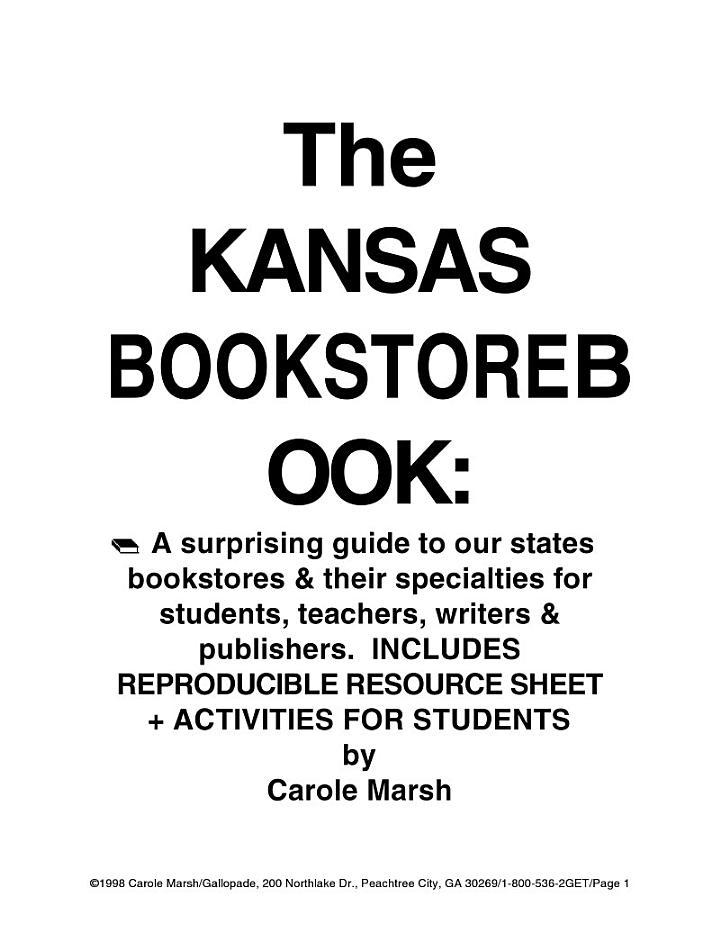 The Kansas Bookstore Book