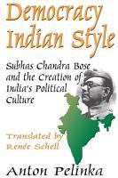Democracy Indian Style PDF