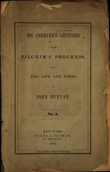 Lectures on the Pilgrim s Progress  and on the Life and Times of John Bunyan PDF