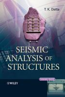 Seismic Analysis of Structures PDF