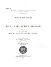 Daily River Stages at River-guage Stations on the Principal Rivers of the United States for the Years 1858-: Part 6
