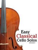 Easy Classical Cello Solos