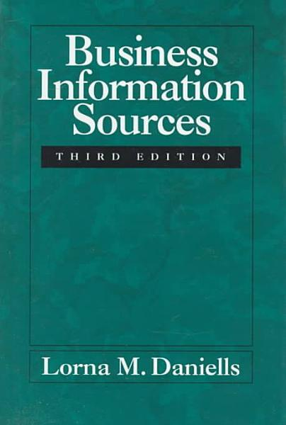 Business Information Sources