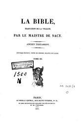 La Bible: Volume3