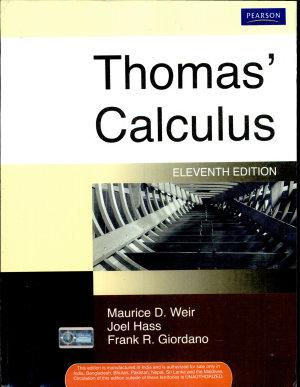 Thomas  Calculus  11 E