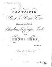 Fantaisie: pour le piano forte ; op. 5