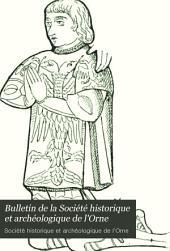 Bulletin de la Société historique et archéologique de l'Orne: Volume5