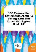 100 Provocative Statements about a Rising Thunder