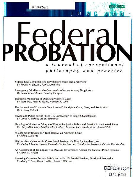 Download Federal Probation Book