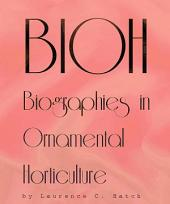 BIOH: Biographies in Ornamental Horticulture