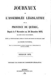 Journaux de l'Assemblee Legislative: Volume 6