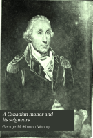 A Canadian Manor and Its Seigneurs PDF