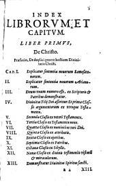Disputationes Roberti Bellarmini Politiani, Societatis Jesu, De Controversiis Christianae Fidei, Adversus huius temporis Haereticos: Tribus Tomis comprehensae, Volume 1, Issue 2