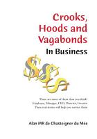 Crooks  Hoods and Vagabonds  in Business  PDF