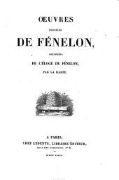Oeuvres choisies de Fénelon
