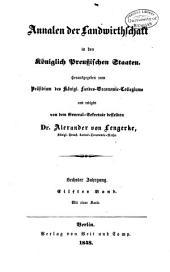 Annalen der Landwirtschaft in den königlich Preussischen Staaten: Band 11