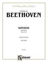Sonatas, Volume IB, Nos. 8-15 (Urtext Edition): For Advanced Piano