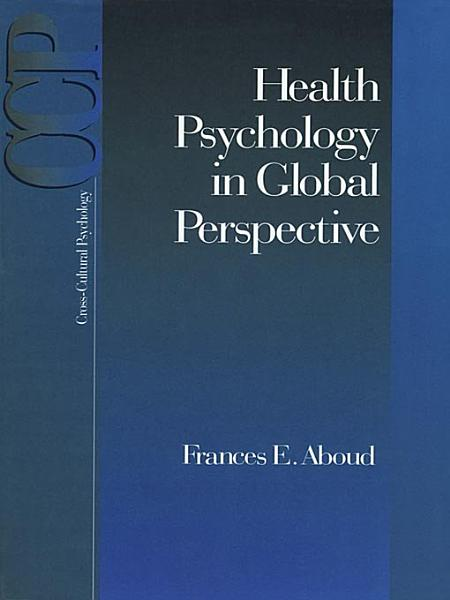 Download Health Psychology in Global Perspective Book