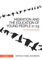 Migration and the Education of Young People 0   19 PDF