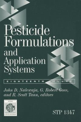 Pesticide Formulations and Application Systems PDF