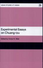 Experimental Essays on Chuang Tzu PDF