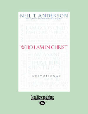 Who I Am in Christ  Large Print 16pt